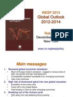 UN - World Economic Situation & Prospects 2013 - Presentation