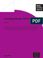 Funding Rules 201213 - Published 3 April 2012