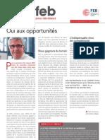 Oui aux opportunités, Infor FEB 40, 20 décembre 2012