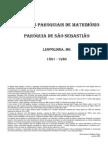 Indice de Assentos Paroquiais de Casamentos em Leopoldina - 1861-1930