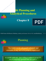 audit planinng and analytical procedure