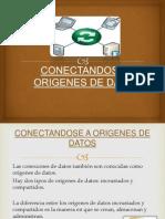 CONECTANDOSE A ORIGENES DE DATOS