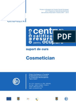 Suport Curs Cosmetician