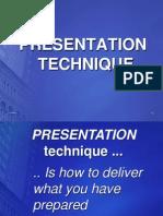 17 - Presentation Technique