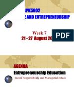 SPE3002 Entrerpeneurship - Education on Ethics and Socia (1)