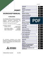 117 Mitsubishi Triton KA4 KB4 KB8 Factory Service Manual | Airbag