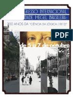 Anais Congresso Hegel 2012