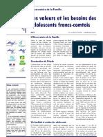 synthèse ados URAF franche-comté