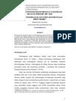 Jurnal Potensi Ekonomi TangSel(Edisi Revisi)