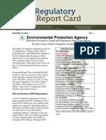 Ryan Young - EPA Regulatory Report Card