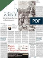 Bompiani Pubblica Le Tre Edizioni Dell'Opera Maggiore Di Giambattista Vico - La Repubblica 19.12.2012