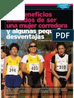 Beneficios mujer corredora