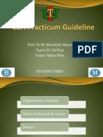 CBA Practicum guide