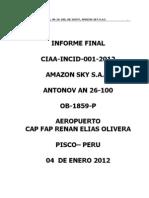 Documento sobre Amazon SKY
