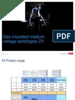 ABB ZX Family GIS MV Swithgear Presentation