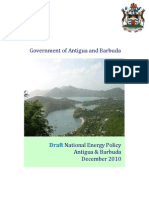 Antigua and Barbuda, Draft National Energy Policy, 12-2010