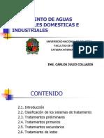 Tratamiento de Aguas Residuales Domesticas e Industriales