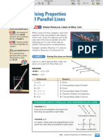 ML Geometry 3-5 Using Properties of Parallel Lines