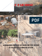 Lost Paradise - Damaging Impact of Mawchi  Mines in Burma's Karenni State-english
