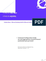Technical Configuration Guide for Link Aggregation Control Protocol (LACP) 802.3ad and VLACP
