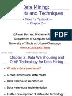 data mning by jaiwei han chapter 2