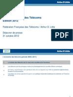 FFTélécoms Economie des Telecoms 2012 - Présentation Presse.pdf