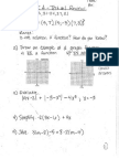 Alg II a Test #1 Review