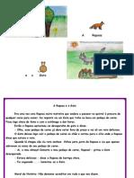 Fábula - A Raposa e o Gato