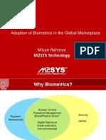 Biometrics and Human Factor Engineering