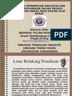 ANALISA KEMAMPUAN RADIATOR DAN HEAT EXCHANGER.pdf