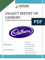 Cadbury Final