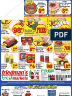Friedman's Freshmarkets - Weekly Specials - December 27, 2012 - January 2, 2013