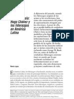 Chávez y los liderazgos en América Latina