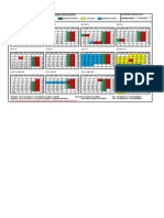 calendario kg 2013