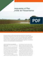 Preguntas y respuestas al Plan de Uso Sostenible de Fitosanitarios