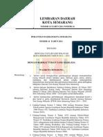 75732698 Perda No 14 Tahun 2011 Ttg RTRW Kota Semarang