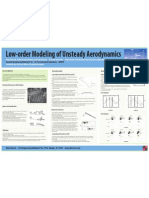 Low Order modeling of Unsteady aerodynamics