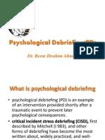 Psychological Debriefing.pptx