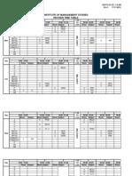 Time Table Term v- 2011-131