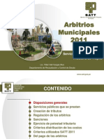 Arbitrios Municipales 2011