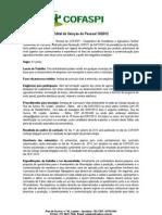 Edital de seleção de pessoal 10/2012 - Território