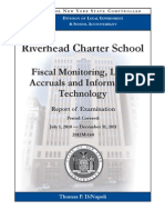 2012 state audit of the Riverhead Charter School