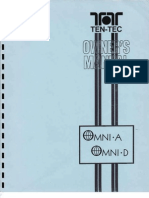 TenTec Owner's Manual Omni-A and D Transceiver and Model 280 Power Supply, 1980.