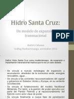 Hidro Santa Cruz. Un modelo de expansión transnacional.
