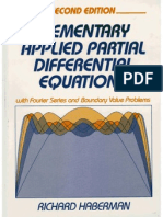 52882700 Elementary Applied Partial Differential Equations With Fourier Series and Boundary Value Problems