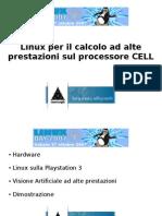 Linux per il calcolo ad alte prestazioni sul processore CELL