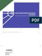 Guia de recursos sociales (2da. Edición)
