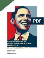 El proceso electoral que encumbró a Barack H Obama
