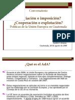 Asociación o Imposición. Cooperación o explotación