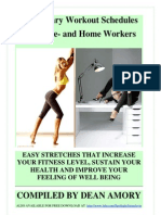 SITTING IS KILLING YOU - fitness workouts & stretches to do at home or at the office